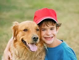 ילד וכלב - מגמת כלבנות טיפולית
