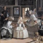 משרתות הכבוד, דייגו ולסקס, ציור עם כלב