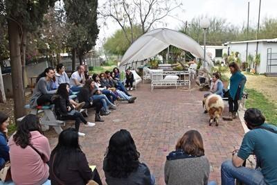 סיור מאי דוג בחווה לימודית טיפול בעזרת בעלי חיים
