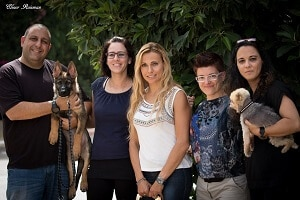 סמינר מאלפי כלבים - בוגרי מאי דוג עם כלבים
