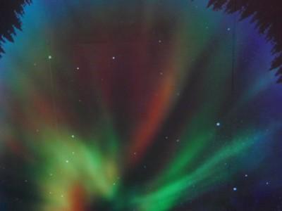 洪悅芳, aurora borealis Rovaniemi הזוהר הצפוני