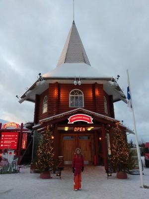 הבית של סנטה קלאוס פתוח למבקרים