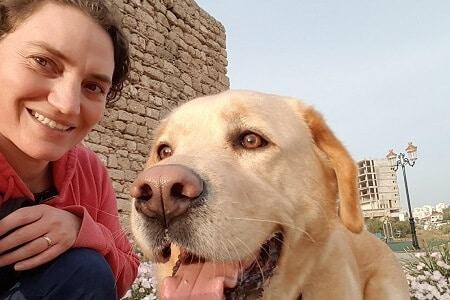 נעה שפלד, מאי דוג מדריכה כלבי עבודה, ספורט כלבי הרחה